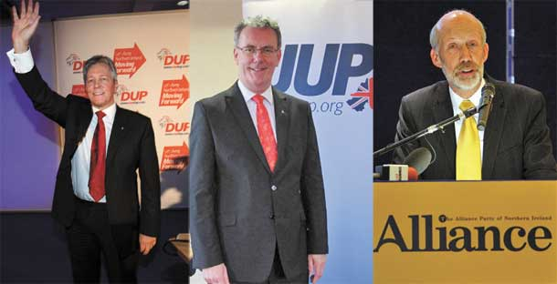 Peter Robinson (DUP), Mike Nesbitt (UUP) and David Ford (Alliance): Time for the leaders of unionism to step up