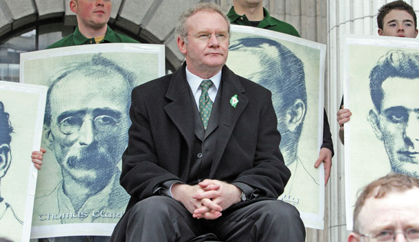 At the GPO in Dublin: Republican leaders past, present and future