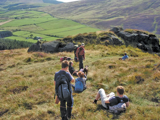 Brian Keenan Mountain Challenge stop