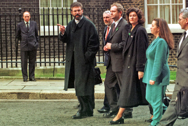 1997: 'The Irish peace process has been tremendously successful'