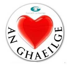 Conradh na Gaeilge sticker