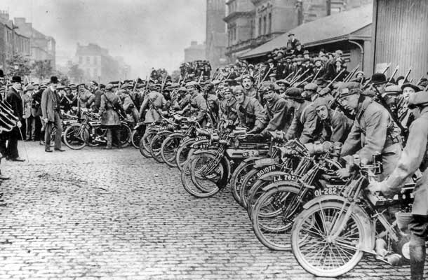The Motorcycle Corps of the UVF in Belfast