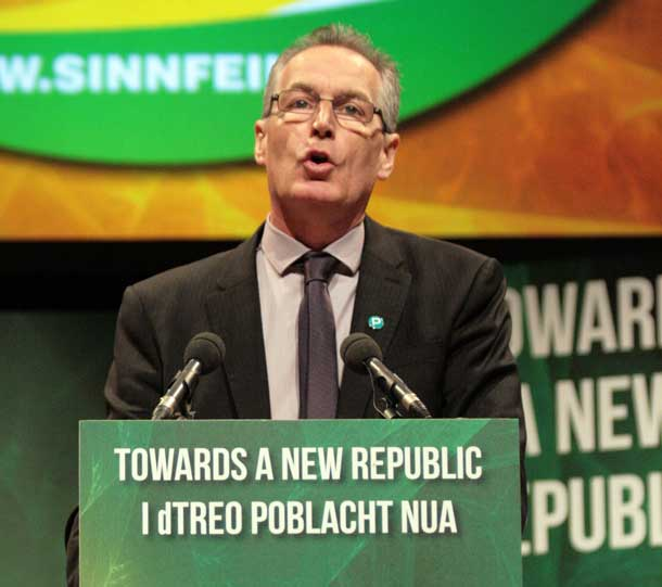 Sinn Féin MLA for North Belfast, Gerry Kelly