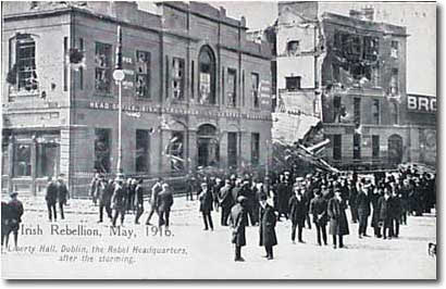 Liberty Hall post 1916 Rising