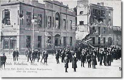 Liberty Hall post 1916 Rising