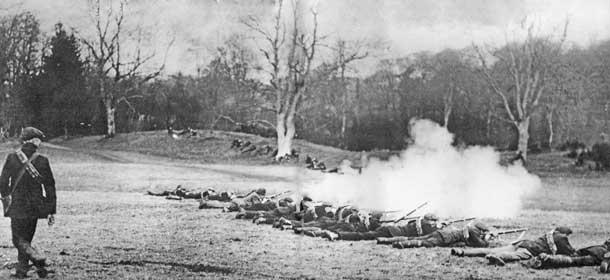 UVF 1913  training
