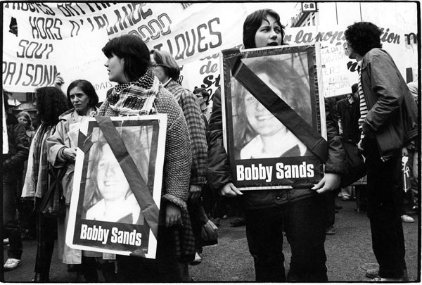 Bobby Sands death protest