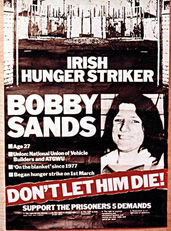 Hunger Strike poster don't let him die