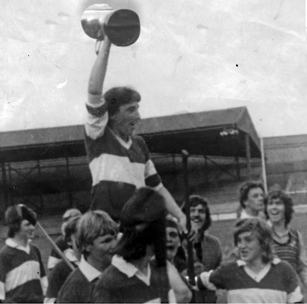 Kevin Lynch captained the Derry team to the All-Ireland under-16 title in 1972