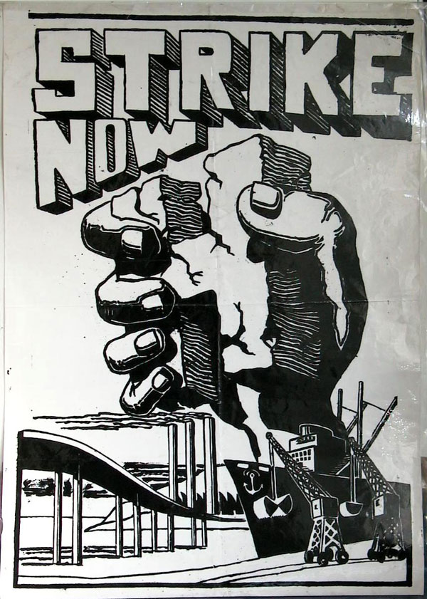 Strike Now Hunger Strike poster