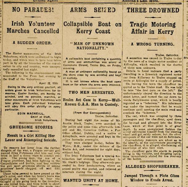 1916 countermanding order
