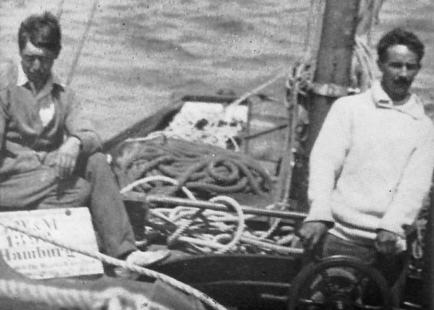 Gordon Shephard and Erskine Childers on the Asgard