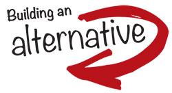Build an Alternative logo