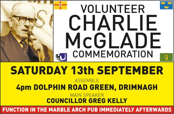 Charlie McGlade comm 2014