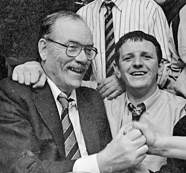 Doco and Mick Murray
