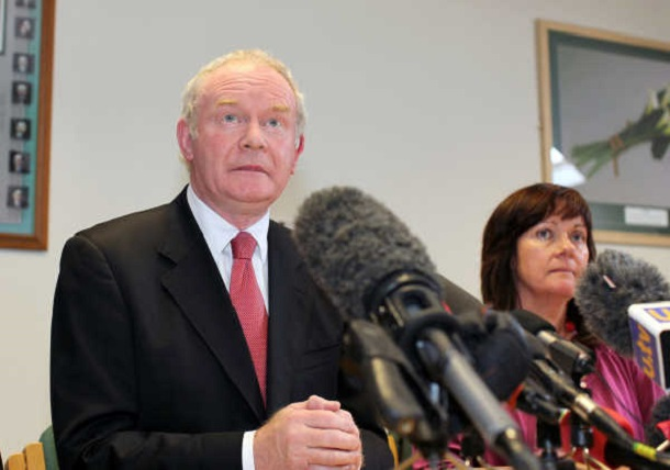 Martin McGuinness press conference