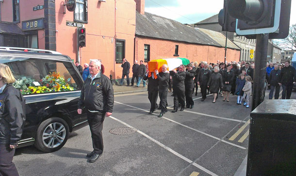 Ray Vaughan funeral
