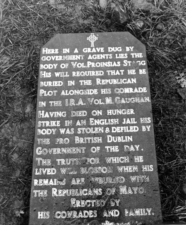 Stagg Headstone