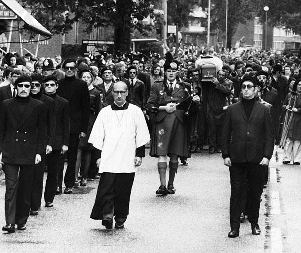 Gaughan funeral