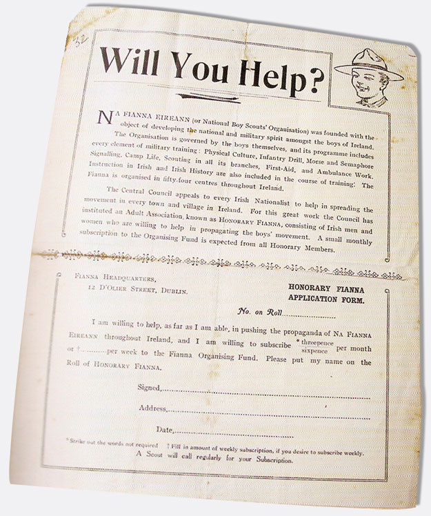 Fianna leaflet