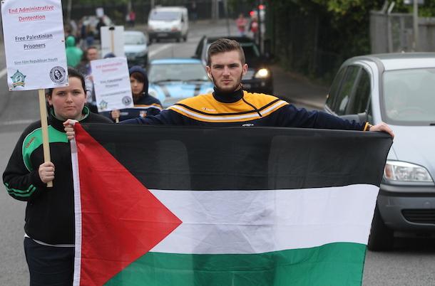 Khader Adnan , June 2015, Belfast