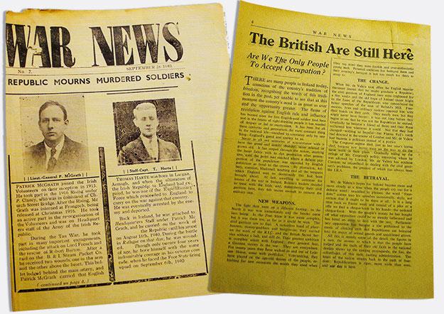 War News paper 1940