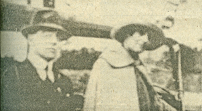 Joe Clarke with Markievicz