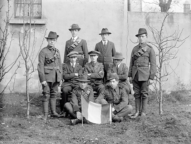 The survivors of the Battle of Mount Street Bridge