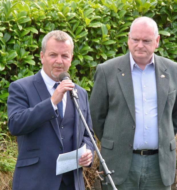 2017 Diarmuid O'Neill – Sinn Féin TD Pat Buckley and Cionnaith Ó Súilleabháin