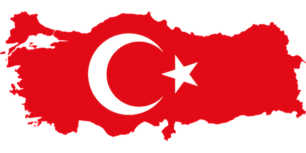 Turkish flag country