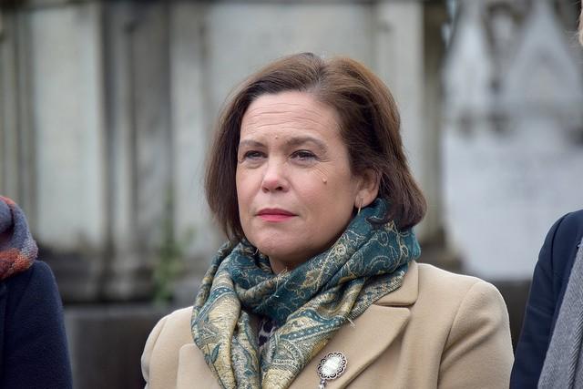 Uachtarán Sinn Féin Mary Lou McDonald TD