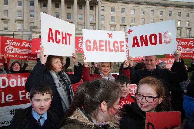 Acht Gaeilge Anois!
