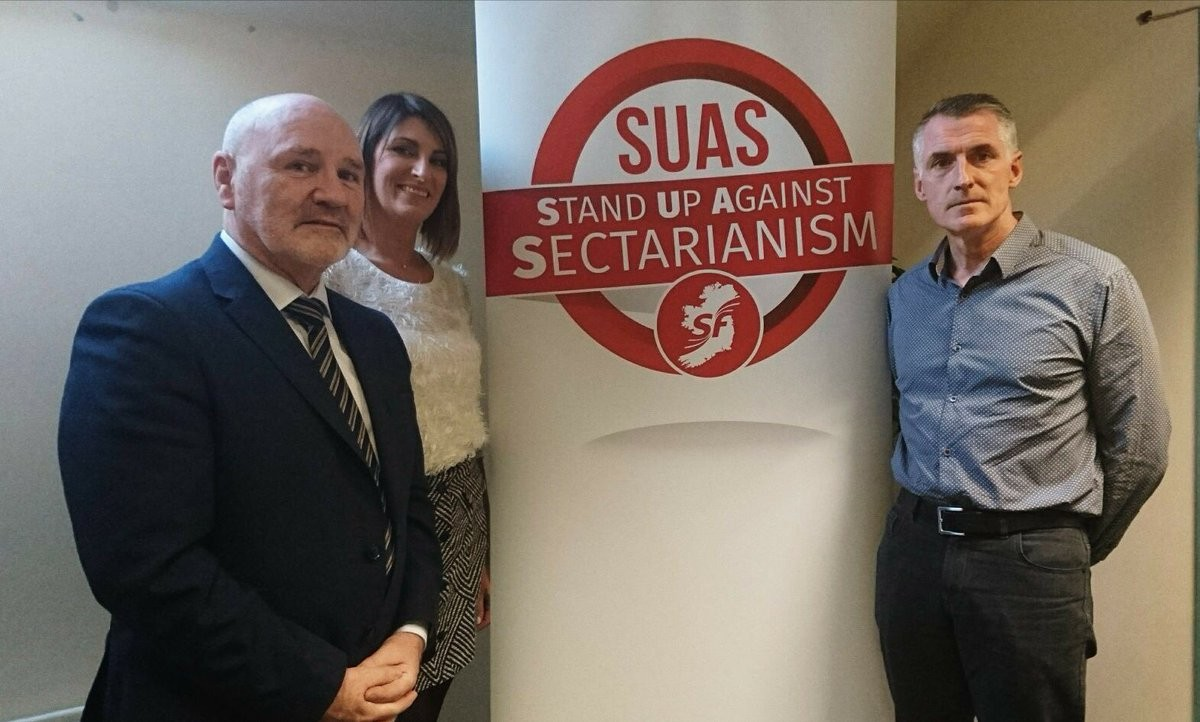 Stand up Against Sectarianism launch