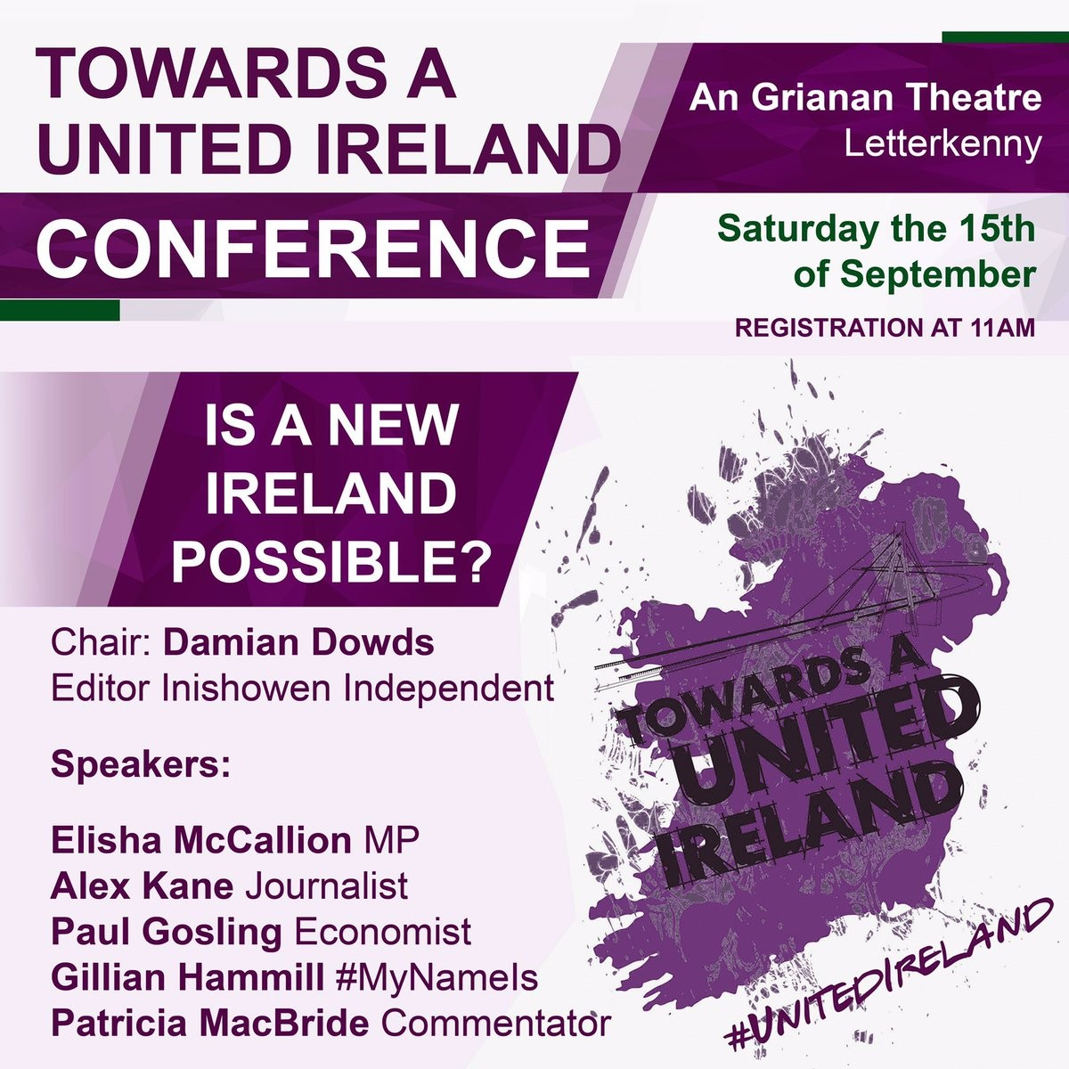 Poster to United Ireland conference.