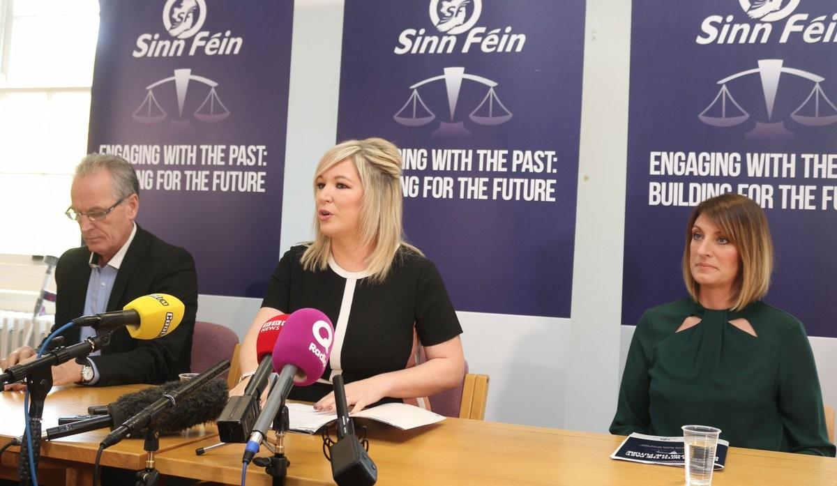 Sinn Féin launch legacy consultation response.