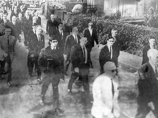 Coalisland to Dungannon Civil Rights March August 1968