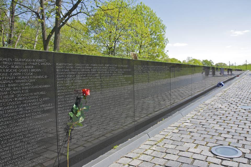 Memorial Wall.