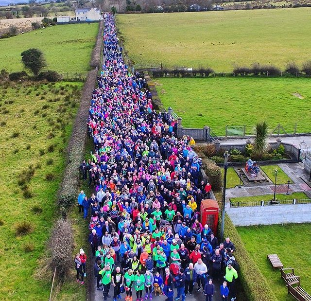 Thousands taking part in The Chieftain's Walk