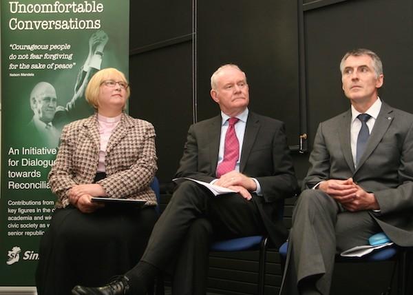 Launch of the Uncomfortable Conversations initiative in Belfast.