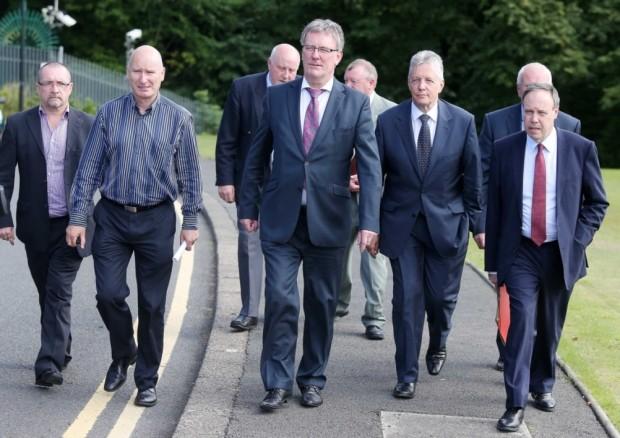 Unionist leaders.