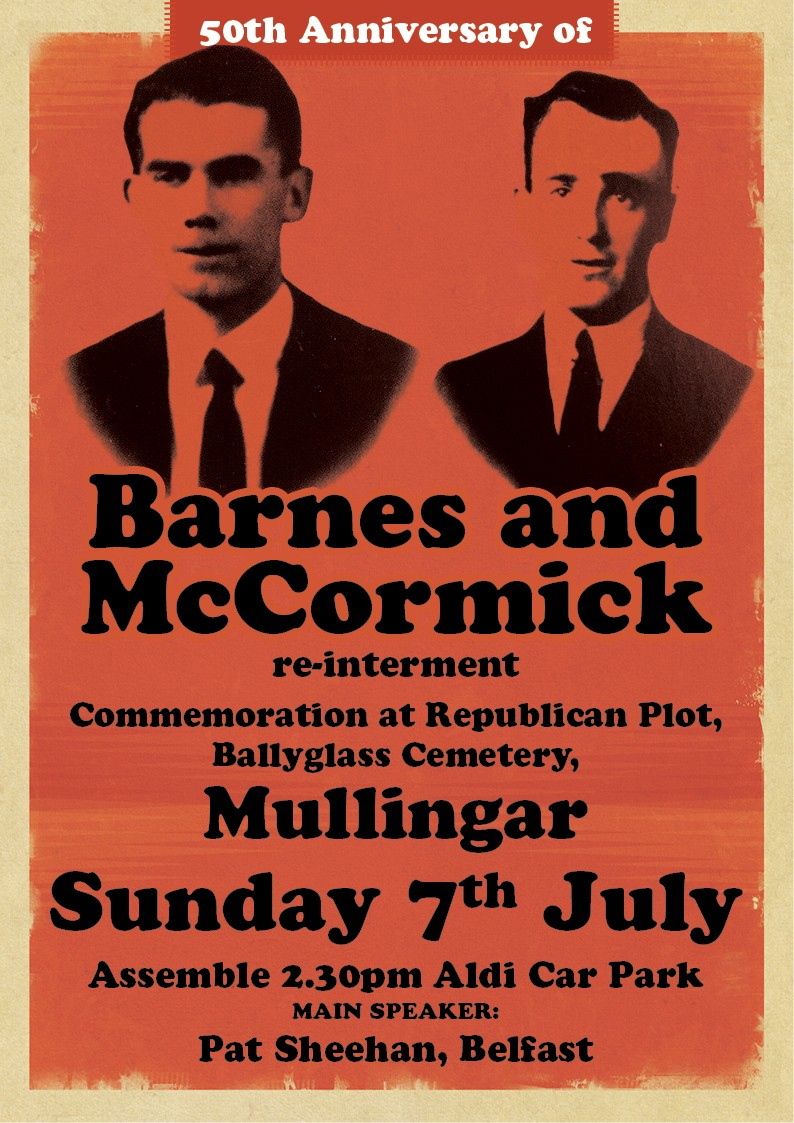 Peter Barnes and James McCormick poster