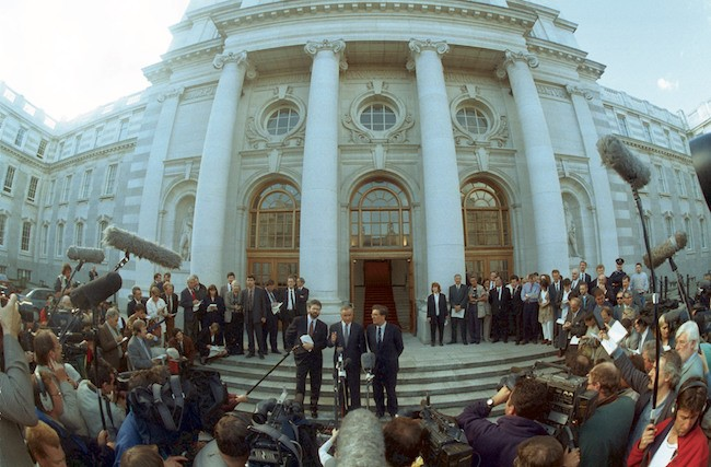 Gerry Adams 6th Sept 1994