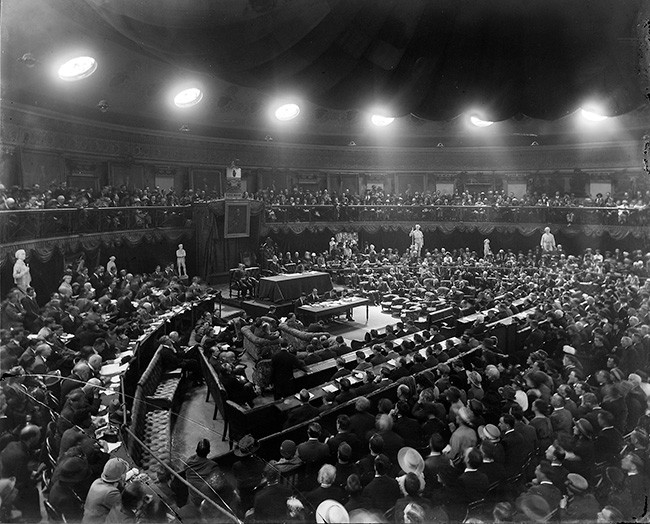 First Dáil meeting April 1919