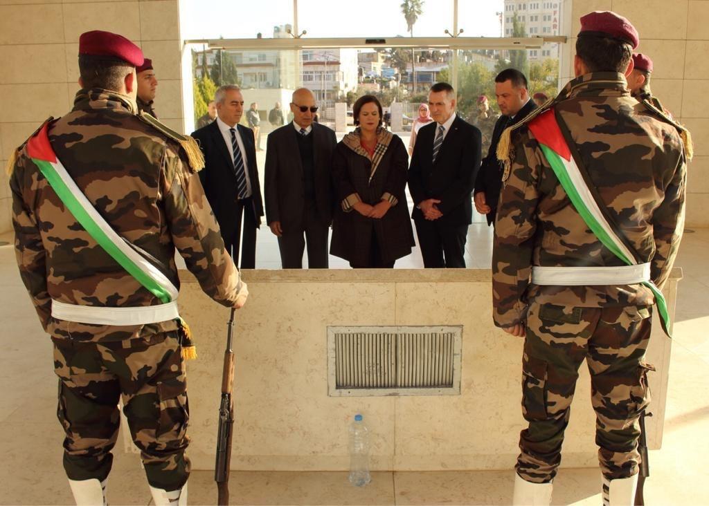 Sinn Féin delegation in Palestine.