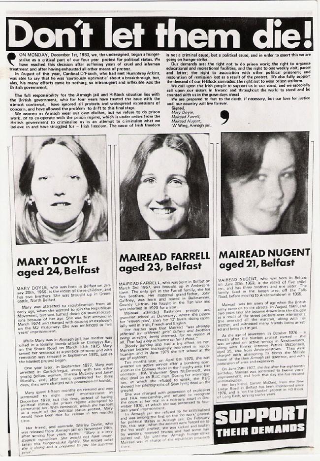 Women Hunger Strike article