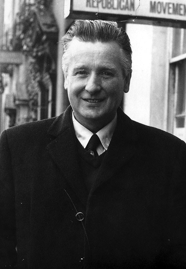 Billy McKee, a senior member of the Belfast IRA