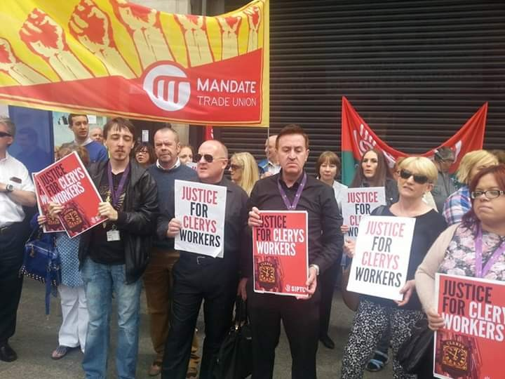 Clerys workers 2014