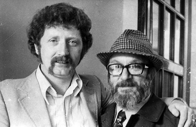 Gerry O'Hare and Eamonn Mac Thomáis