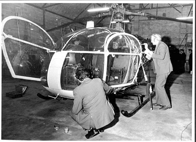Gerry O'Hare Helicopter