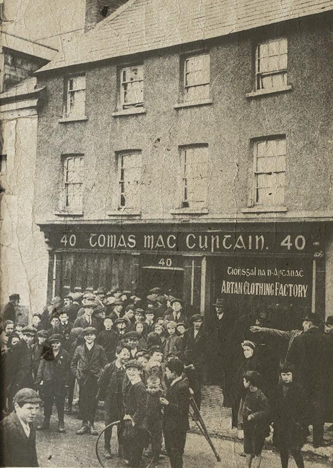 Tomas Mac Curtain home